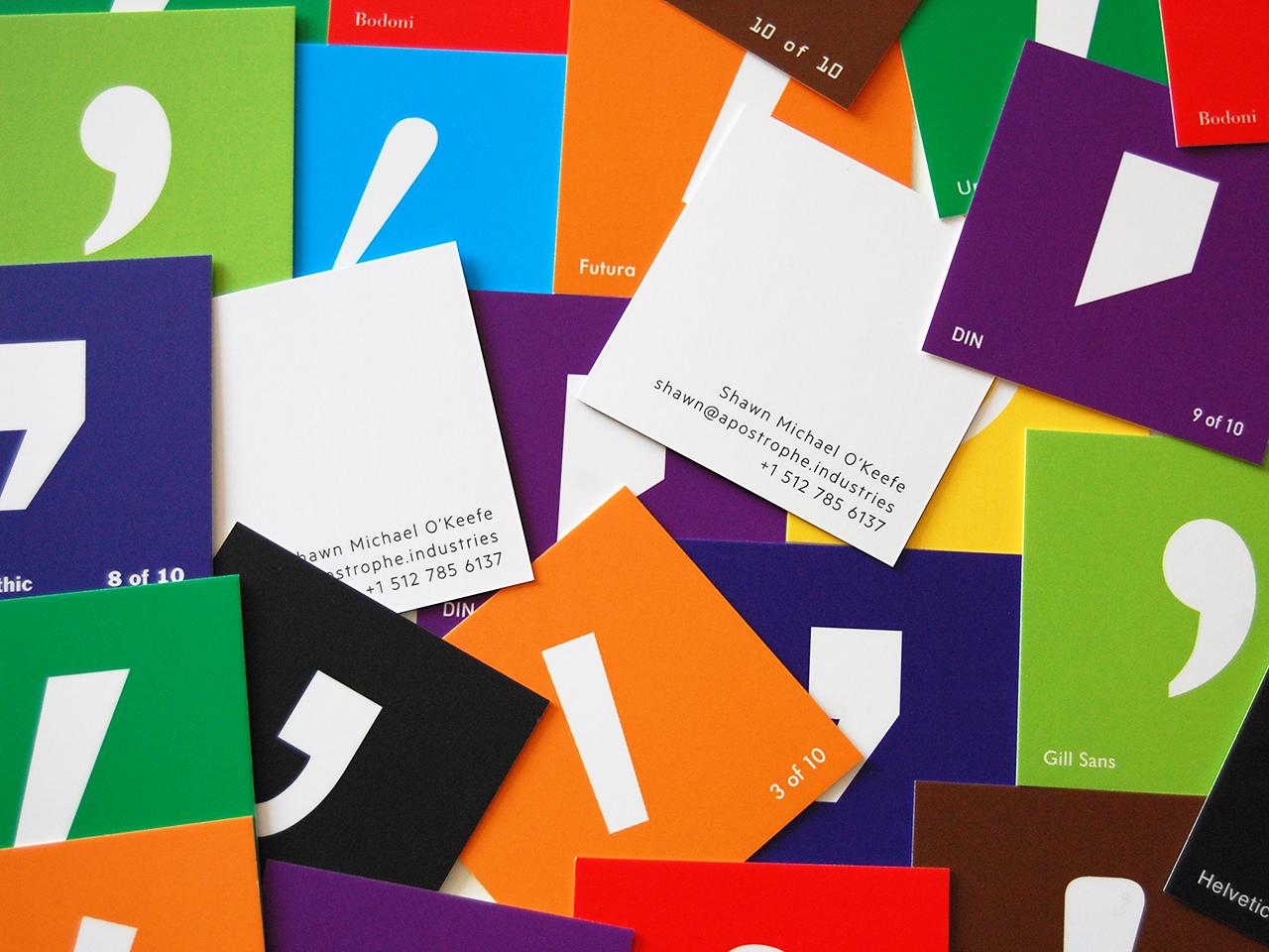 Apostrophe Cards