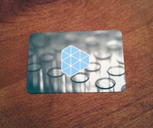 Litmus Health Business Card Design