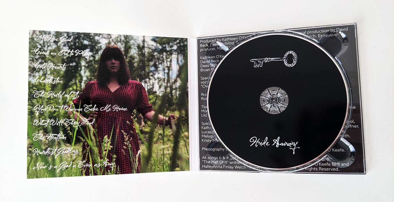 Kathleen O'Keefe - Hide Away - inside cover