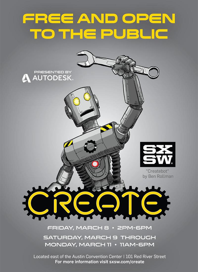 Hackers, Makers, Creators Unite